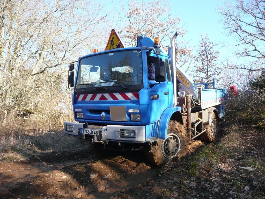 formation conduite camion EDF